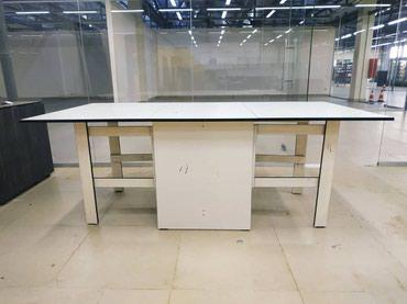 стол трансформер раскладной в Кыргызстан: Стол трансформер 1метр ширина2метра длина 4800сом качество отлично