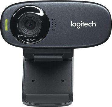 Веб-камеры - Кыргызстан: Logitech c320 HD webcam 720p Состояние отличное