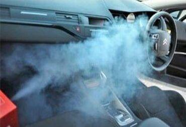 """Удаление неприятных запахов в авто!Технология """"Сухой туман"""" Мы поможем"""