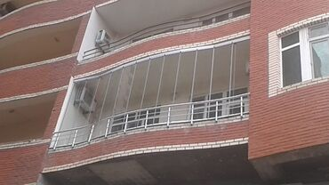 Bütün növ cam balkonların sifarişi