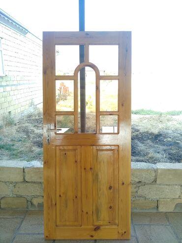 Дом и сад - Аджикабул: Двери | Дерево | Азербайджан | С рамой, С замком