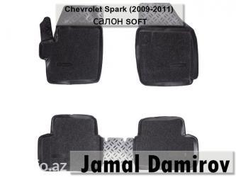 Chevrolet spark 2009-2011 üçün ayaqaltılar salon soft, в Bakı