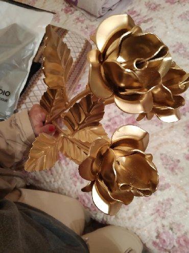 Кованые розы(цена за штуку,3розы вместе за 2500сом)
