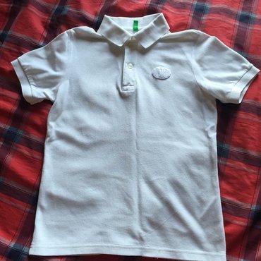 Bakı şəhərində Benetton, для мальчика, вместо логотипа наклейка, 7/8 лет, рост 130