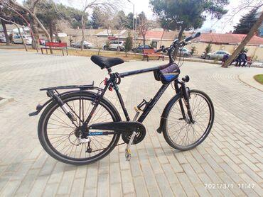 İdman və hobbi - Azərbaycan: 28 lik alman velosiped. Alminum rama. Alminum disk ve pedal.Kalkhoff