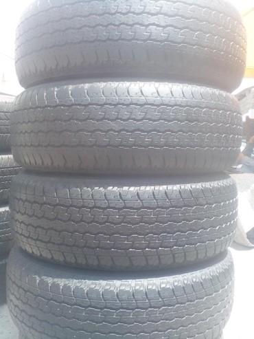 225 65 17 зима в Азербайджан: 4 eded ela veziyyetde Bridgestone 265 65 17 . shekilde 4 tekerin 4 de