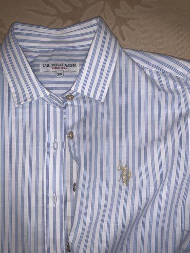 Продаётся рубашка Polo оригинал, размер 36, одета один раз. Торг