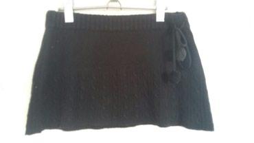 Zimska suknjica - Srbija: 300rsd mini suknjica zimska s velicine sa buckicama sa strane . v