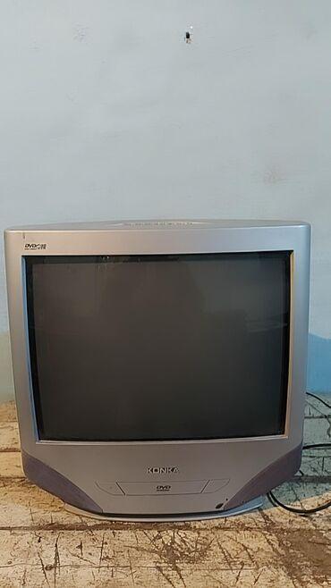 538 объявлений | ЭЛЕКТРОНИКА: Продаю.Телевизор в хорошем состоянии. Цветной встроенный DVD можно на