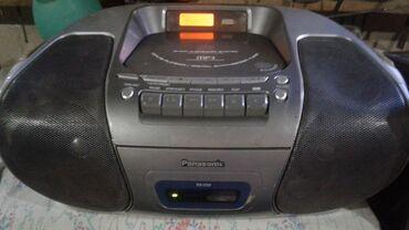 диски музыка в Кыргызстан: Продаю магнитофон Panasonic RX-D29.Диски не работают,остальное все