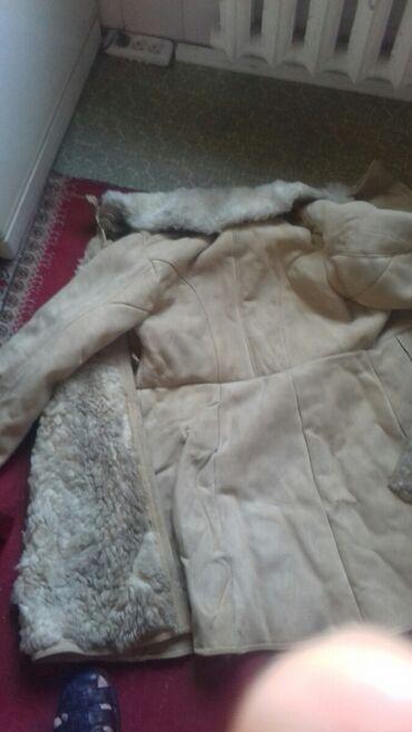 Тулуп-натуральная овчина 50ый размер,тел.