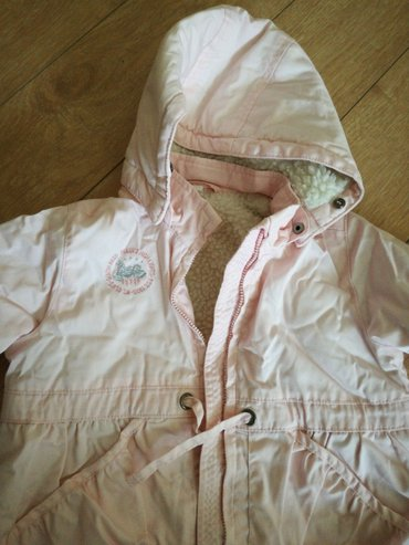 Hm zimska jakna za devojcice,kao nova,topla,postavljena,kapuljaca se - Kostolac
