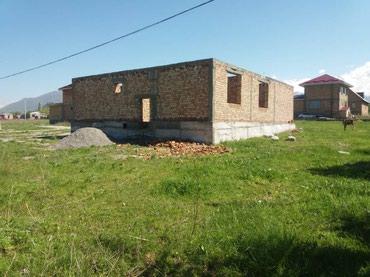 Продаю участок с не достроенным домом в Бишкек