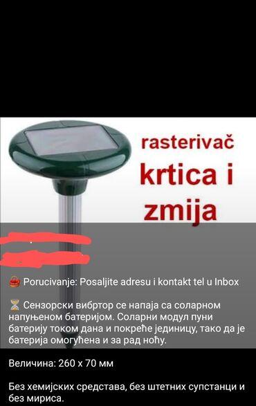 Sport i hobi - Vrnjacka Banja: Rasterivac krtica i zmija