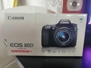 Canon 80D Hədiyyə alınıb işlədilməyib mağazada 2000m yuxarıdı qiymət
