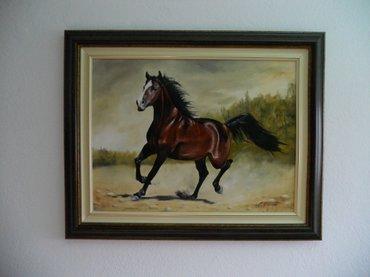 Ulje na platnu, luksuzno uramljena kao na slici 76x61, sliku kupujete - Lebane