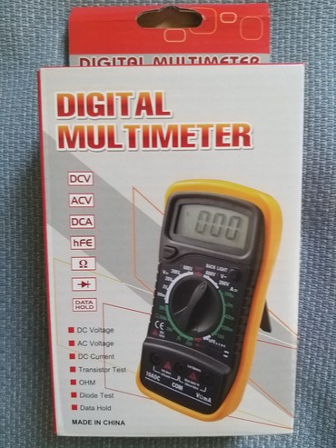 Unimer - Srbija: Unimer XL830L DigitalniDC Current range 20μ A-2mA-20mA-200mA-20A, ±
