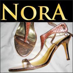Opet sandale br - Srbija: Sandale brenda nora. Savrsene. Nisu nosene. Boja pudera,rozikasta