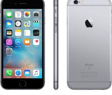 IPhone 6 | 32 GB | Boz (Space Gray) | İşlənmiş | Barmaq izi