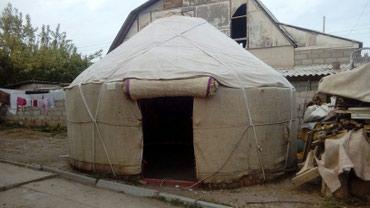 Юрта (кыргыз боз уй, 5 канат, кичинеден в Бактуу долоноту