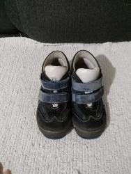 Bez cipele - Srbija: Baldino duboke cipele, plavo sive boje, bez ostecenja, broj 26