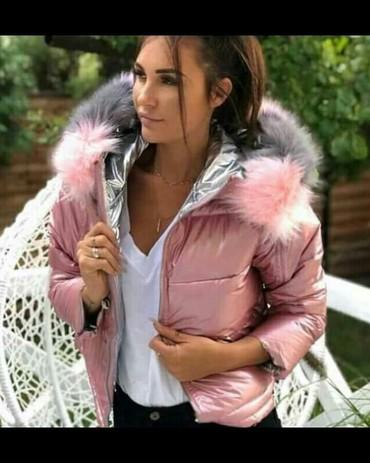 Jakna sa - Srbija: NOVO sa etiketom jakna sa dva lica vise boja