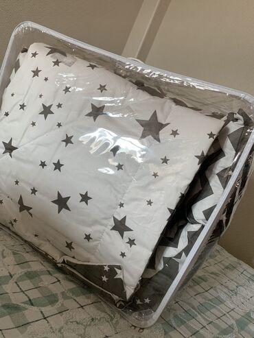 Продаю обсолютно новые бортики ! 12 подушек одеяло простыня !