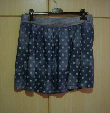 Πουά φούστα, M/L, αφόρετη ΔΩΡΟ το μπολερό! (κωδ. 136) σε Kamatero