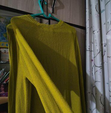 Оверсайз свитер,длинный. Отличное качество