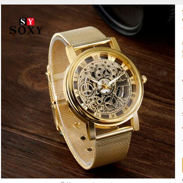 SOXY Brand Golden Silver Luxury Hollow Steel Watches  - Novi Sad