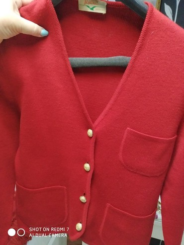 женские замшевые кроссовки в Азербайджан: Дизайнерская одежда Женские итальянские жакеты flyline темно_красный-