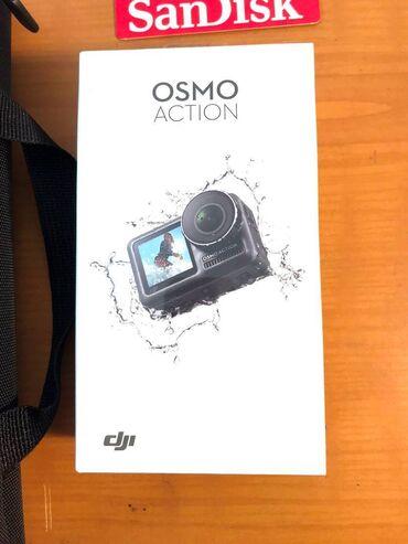 fotoaparat aksesuarlari - Azərbaycan: DJI OSMO ACTION 4k 60 fps kamera yenidir, shekilde olan butun