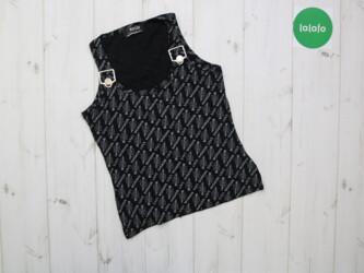 Женская летняя блуза с надписьями Morgan       Длина: 47 см Пог: 34 см
