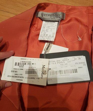 Prelepa max mara suknja, linije sportmax. Nova sa etiketom i cenom - Belgrade