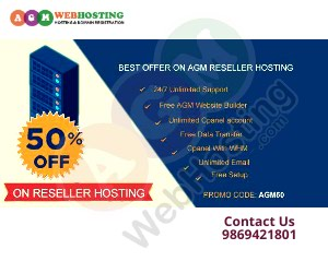 Grab flat 50% off on Reseller Hosting. Reseller Plans are starting at in Kathmandu