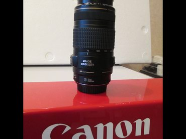 CANON EF 70-300mm 1:4-5.6 IS USM new в Bakı