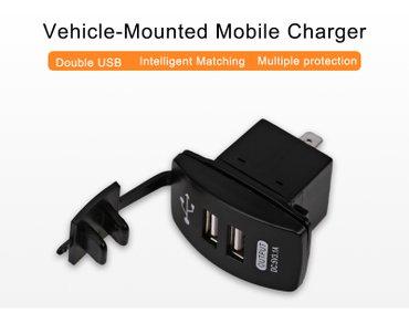 Vodootporni USB ugradni punjač 12-24V  Moze se koristiti u kolima , - Zrenjanin