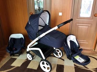 автолюлька nania в Кыргызстан: Коляска Милано 3 в 1! Супер коляска. Пользовались всего 4 месяца. Сами