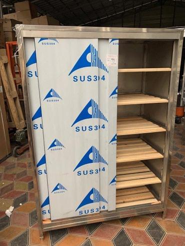 Хлебный шкаф из нержавейки в Бишкек