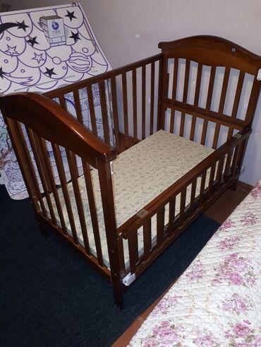бу детские кроватки в Кыргызстан: Продаю детскую кроватку/манеж. Состояние отличное. Расцветка подойдёт