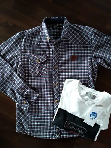 Košulja i majica za dečaka. Veličina 11-12. - Ruma
