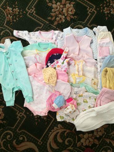 майка борцовка в Кыргызстан: Детский новорожденные вещи. состояние отличное.1 шт слипики.2 шт боди