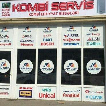 Bakı şəhərində Kombi satis ve temir servisi