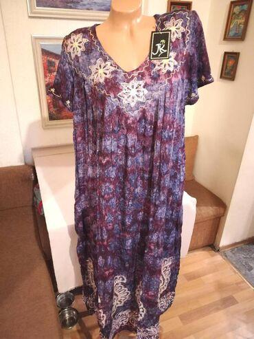 Nova zenska indijska haljina za punije dame Nini. Indijska. Odlicna