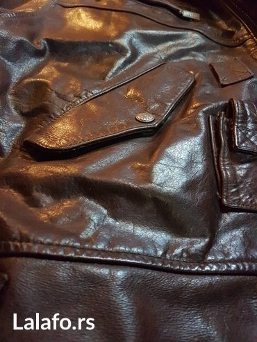 Muška odeća | Kikinda: Kozna muska jakna, brando, kupljena u cotton-u, cista koza, sjajno