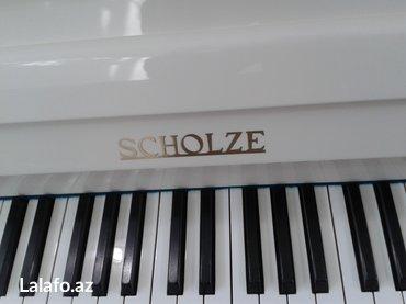 Bakı şəhərində Tam yeni scholze markalı piano - Çexoslovakiya istehsalı, ideal- şəkil 2