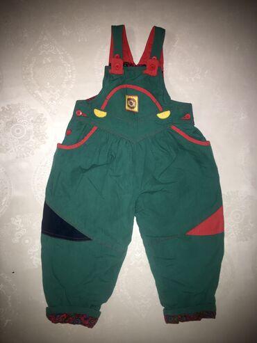 одежда детская купить в Кыргызстан: Утепленный зимний комбинезон детский  Возраст: на рост 104 Состояние