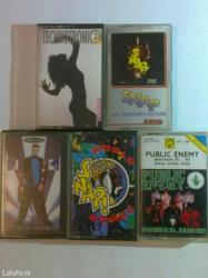 Umetnost i kolekcionarstvo | Batajnica: Prodajem pet originalnih audio kaseta iz '90-tih,kasete su očuvane i u