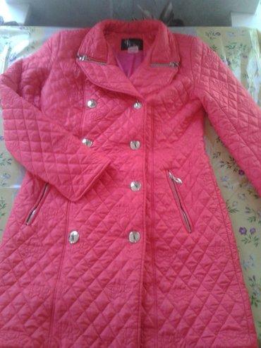 Удлиненная куртка деми  размер 46-48 в отличном состоянии!  в Бишкек