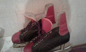 Продам коньки СССР, кожа, размер 26.  почти новые. торг. в Бишкек